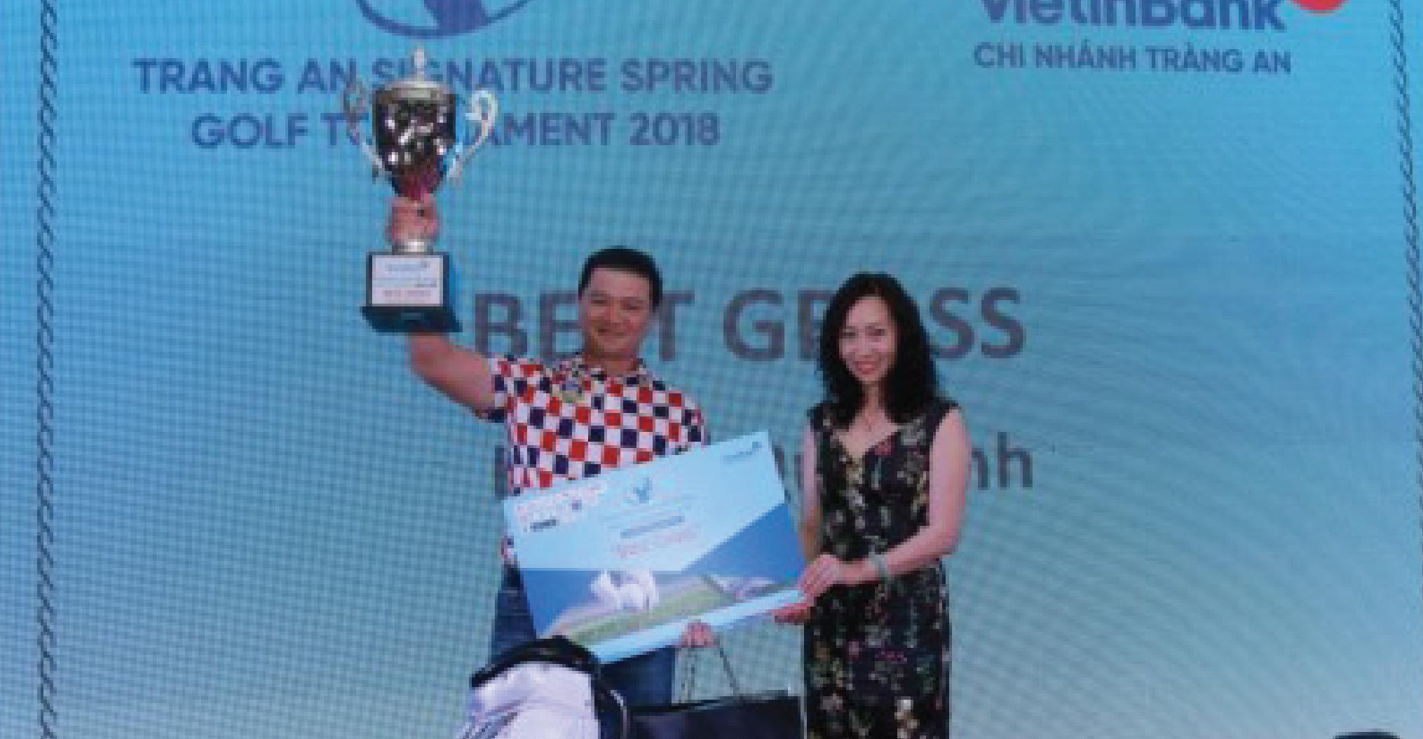 Golfer Quế Linh vô địch, Bảo Long nhất bảng A giải Tràng An Signature Spring Golf Tournament 2018