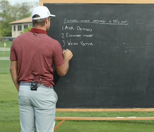 Nhà khoa học golf DeChambeau nghĩ tới 6 yếu tố trước mỗi cú đánh, còn bạn?