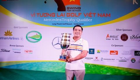 Đỗ Duy Hiền lần thứ 3 liên tiếp vô địch Swing for Vietnam