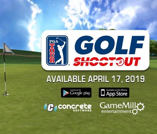 PGA TOUR phát hành game mobile, người chơi được xếp hạng FedEx và nâng cấp gậy golf như thật.