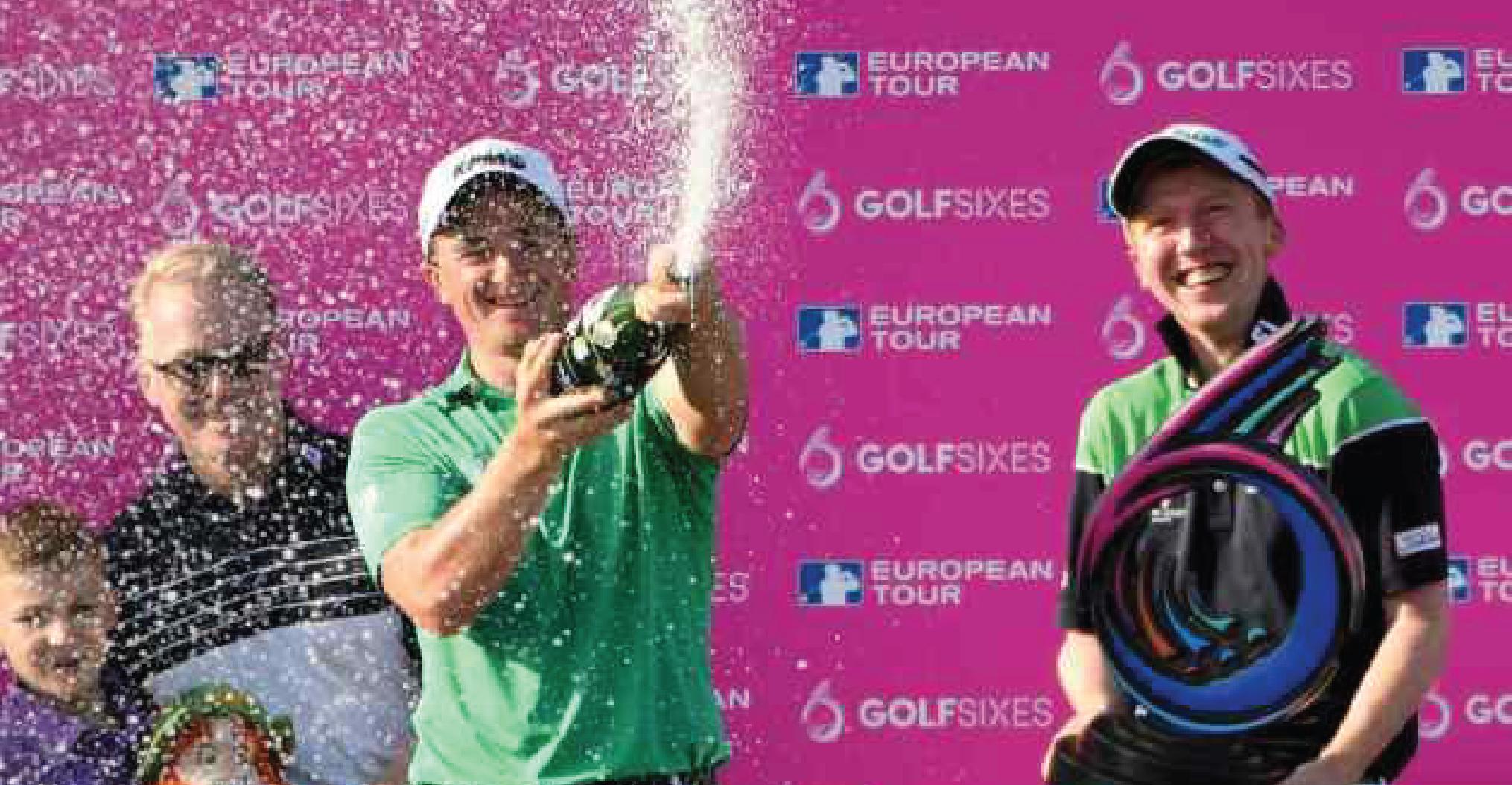 Vô địch GolfSixes, tay golf nhận tiền thưởng gấp đôi số kiếm được trong sự nghiệp
