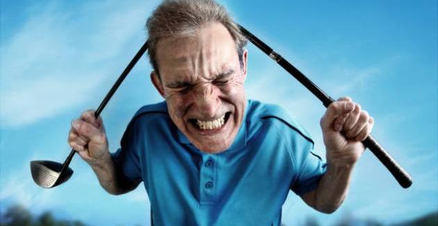 Nghiên cứu chỉ ra: Người hay phàn nàn, khó tính trong golf có nguy cơ bị teo não