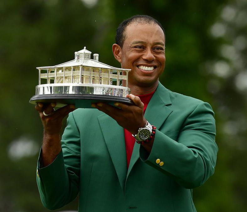 Tiger Woods vô địch The Masters, có danh hiệu Major thứ 15 trong sự nghiệp