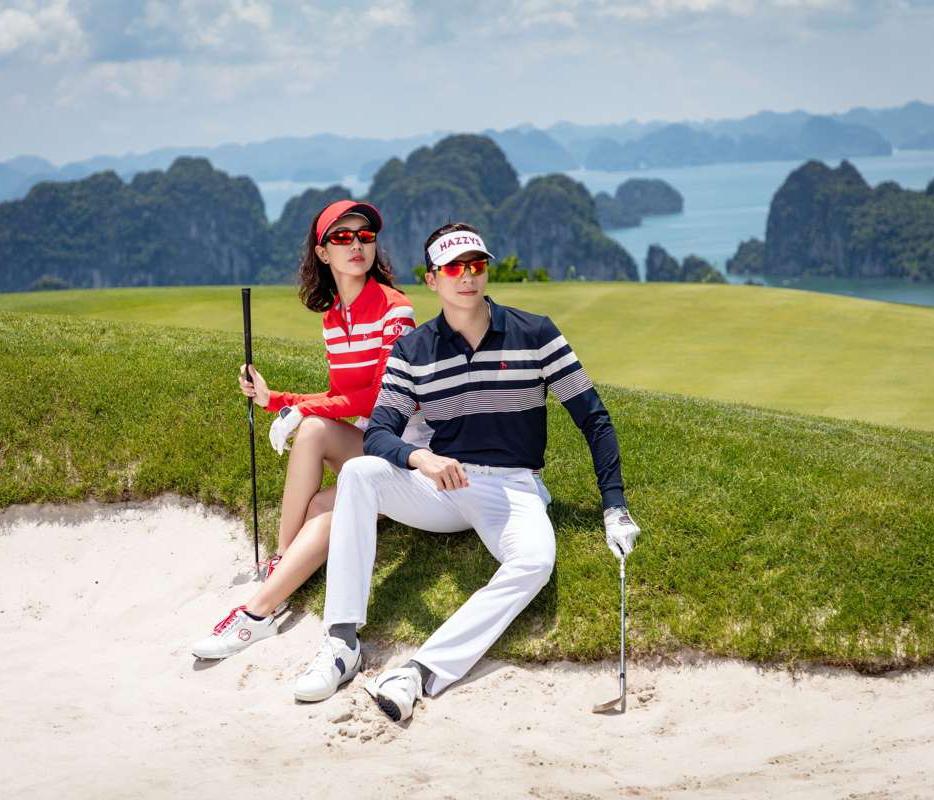 Tinh tế khi lực chọn trang phục ra sân golf