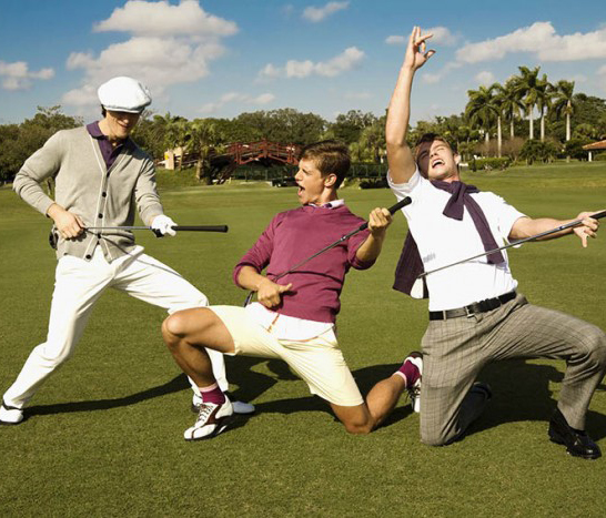Golf phá cách….Tại sao không?