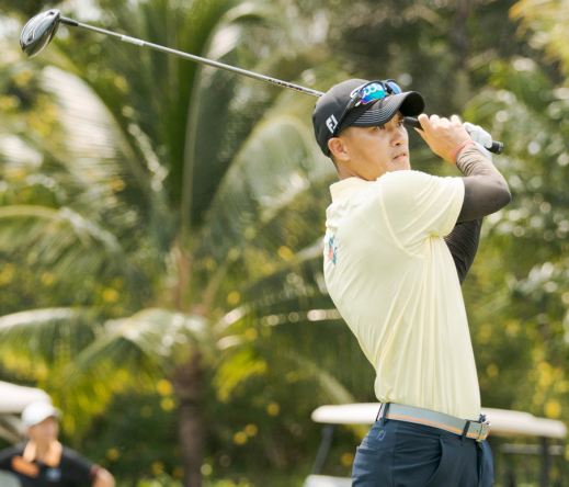 Lê Công Vinh đánh 79 gậy tại giải golf Corona Phú Quốc Open 2019